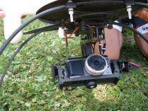 Fotoaparát v závese Microdronu